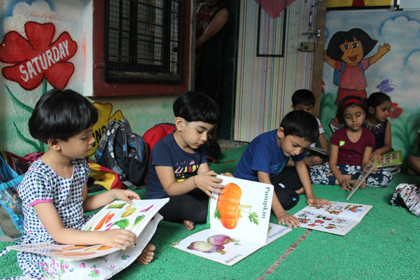 Personality development activity at mamata day care center
